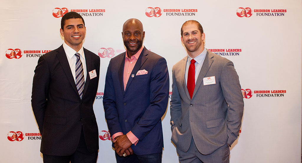GLF - Zach Brown, Jerry Rice and Chris McLaurin